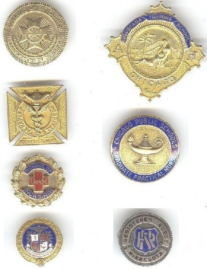 History Of Nursing Pins