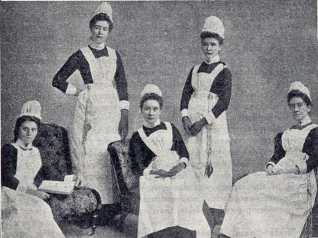 History Of Nursing Uniform 17