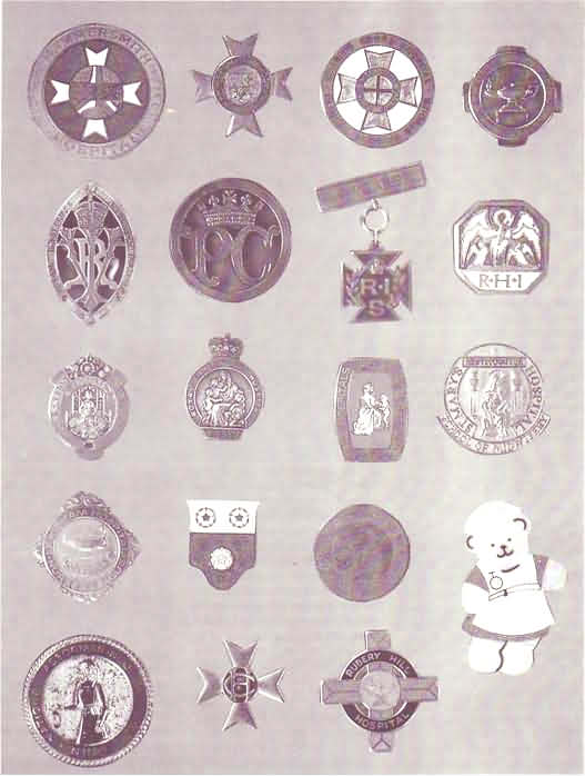 History Of Nursing  Badges