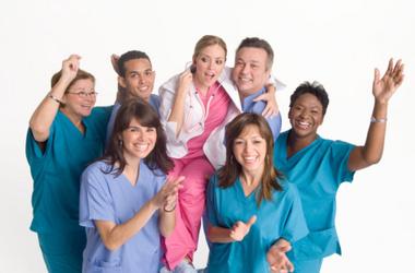 congenial working relationship between nurses