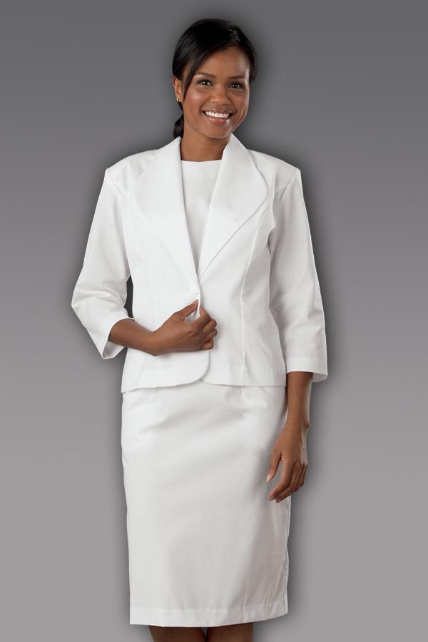3/4 Sleeve Dress Suit