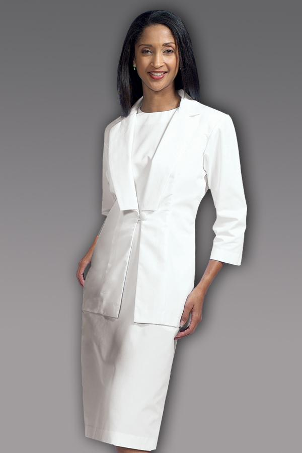 3/4 Sleeve Dress Suit