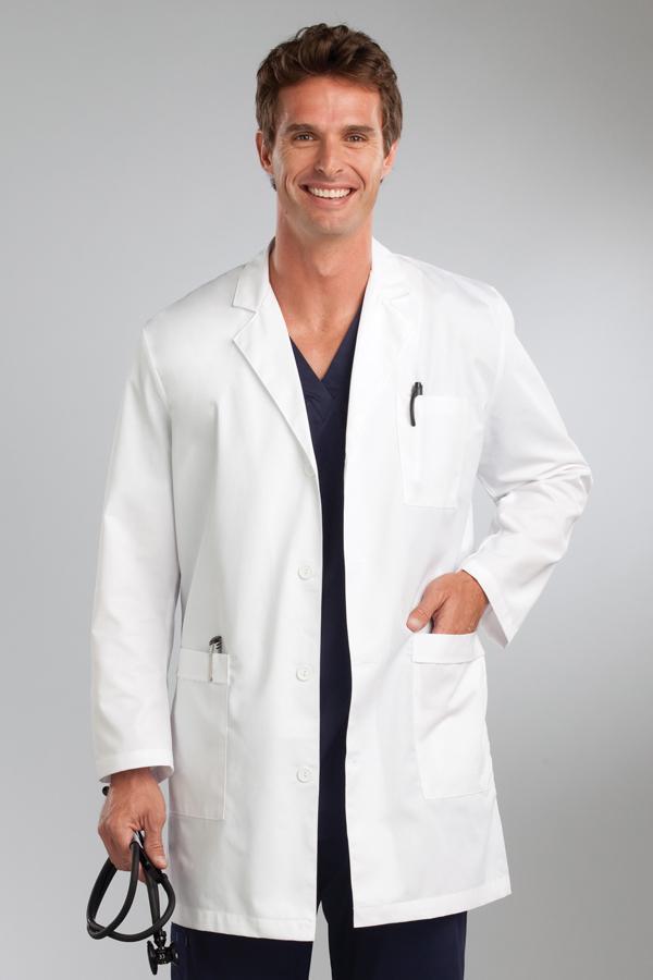 Men'S Twill Lab Coat