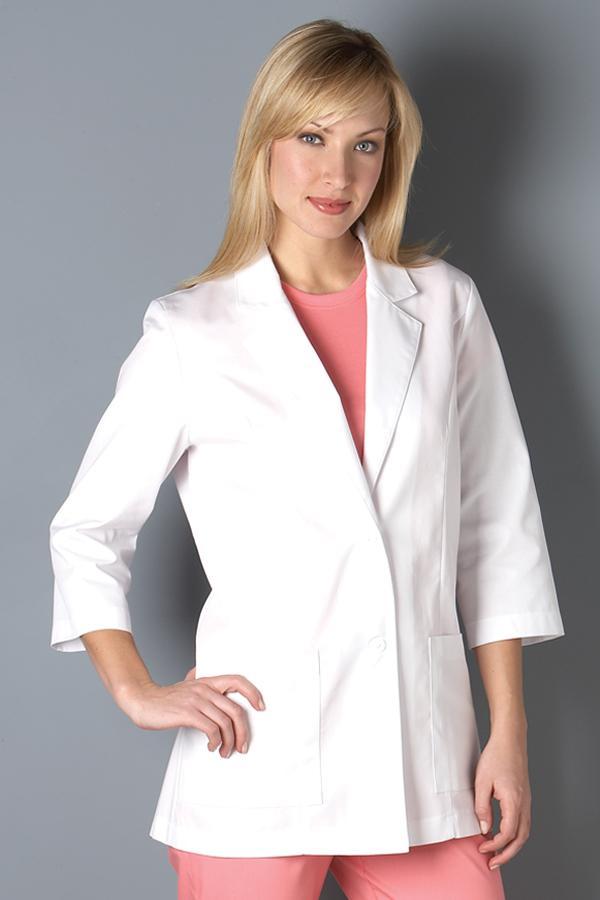 3/4 Sleeve Classic Lab Coat