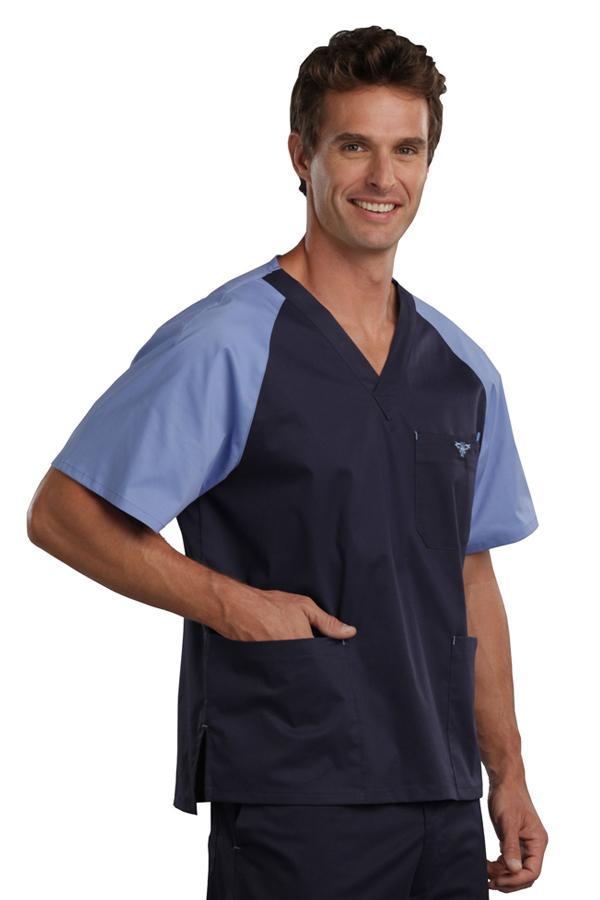 Men'S Raglan scrub top