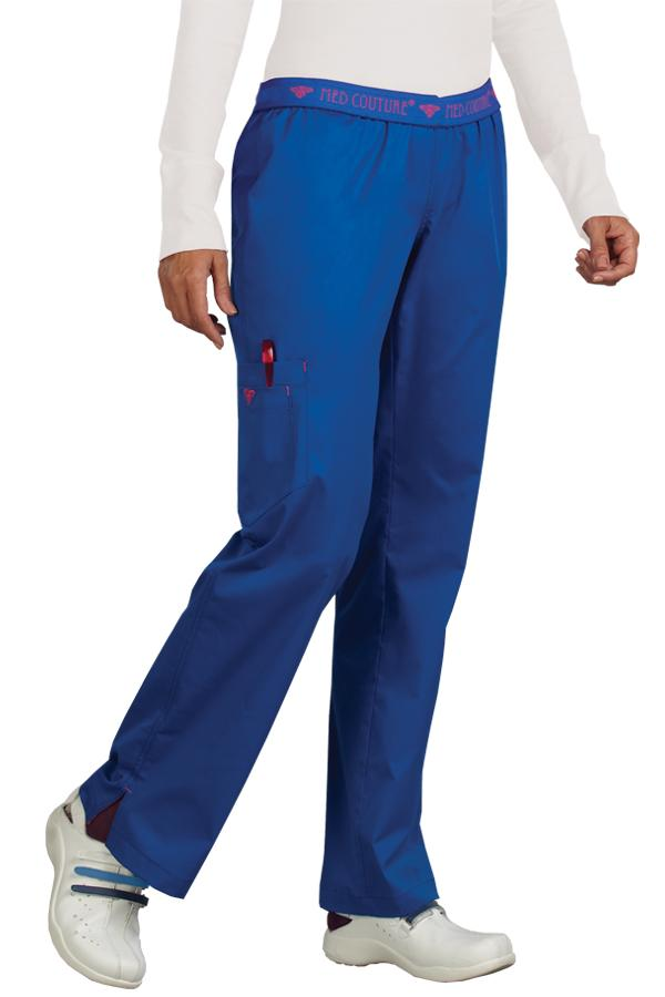 Banded scrub pants With Side Pocket