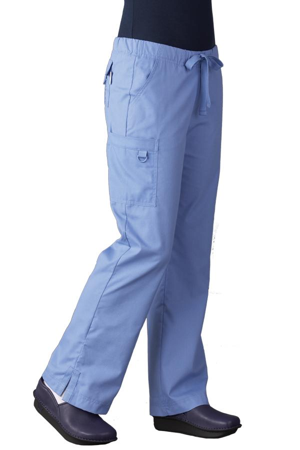 D-Ring Cargo Pocket scrub pants - Petit